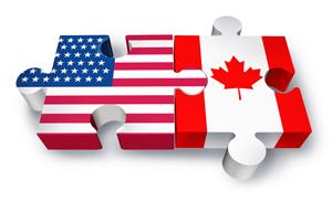 美国加拿大